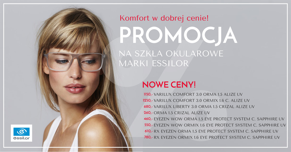 Promocje Essilor